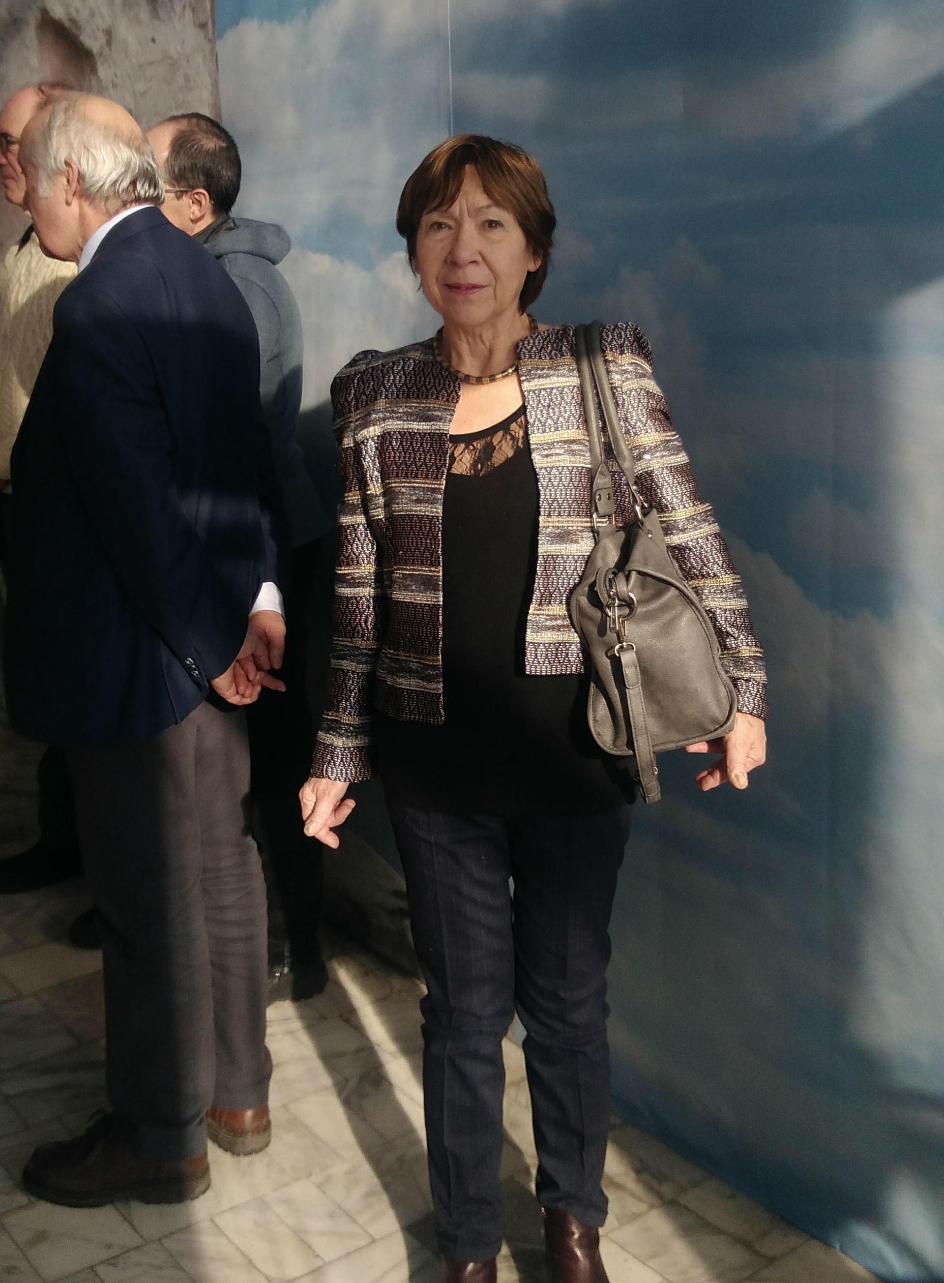 Martine à Volgograd en 2018