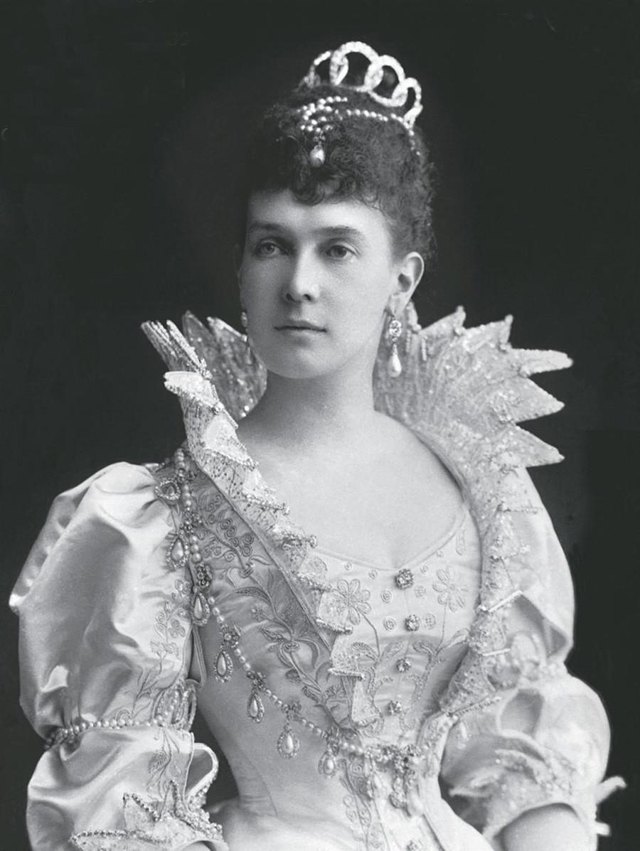 Великата руска княгиня Мария Павловна.