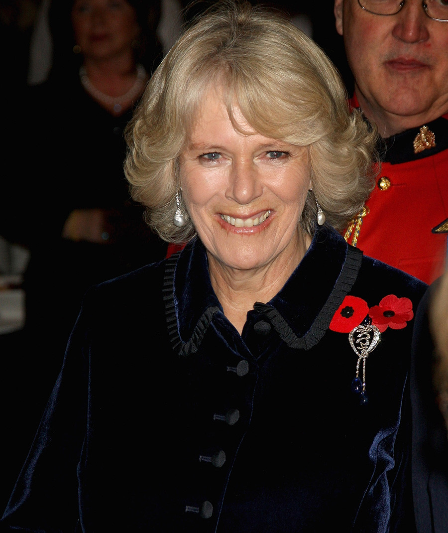 Херцогинята на Корнуол Камила по време на прием в The Rooms, Сейнт Джонс, Канада, 3 ноември 2009 г.