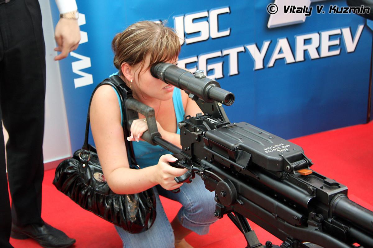 "Тешки митраљез ""Корд"" калибра 12,7 мм."