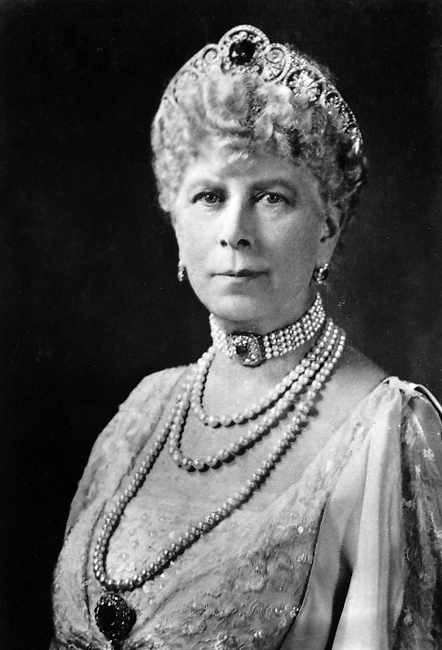 Queen Mary (1867-1953), 1937.