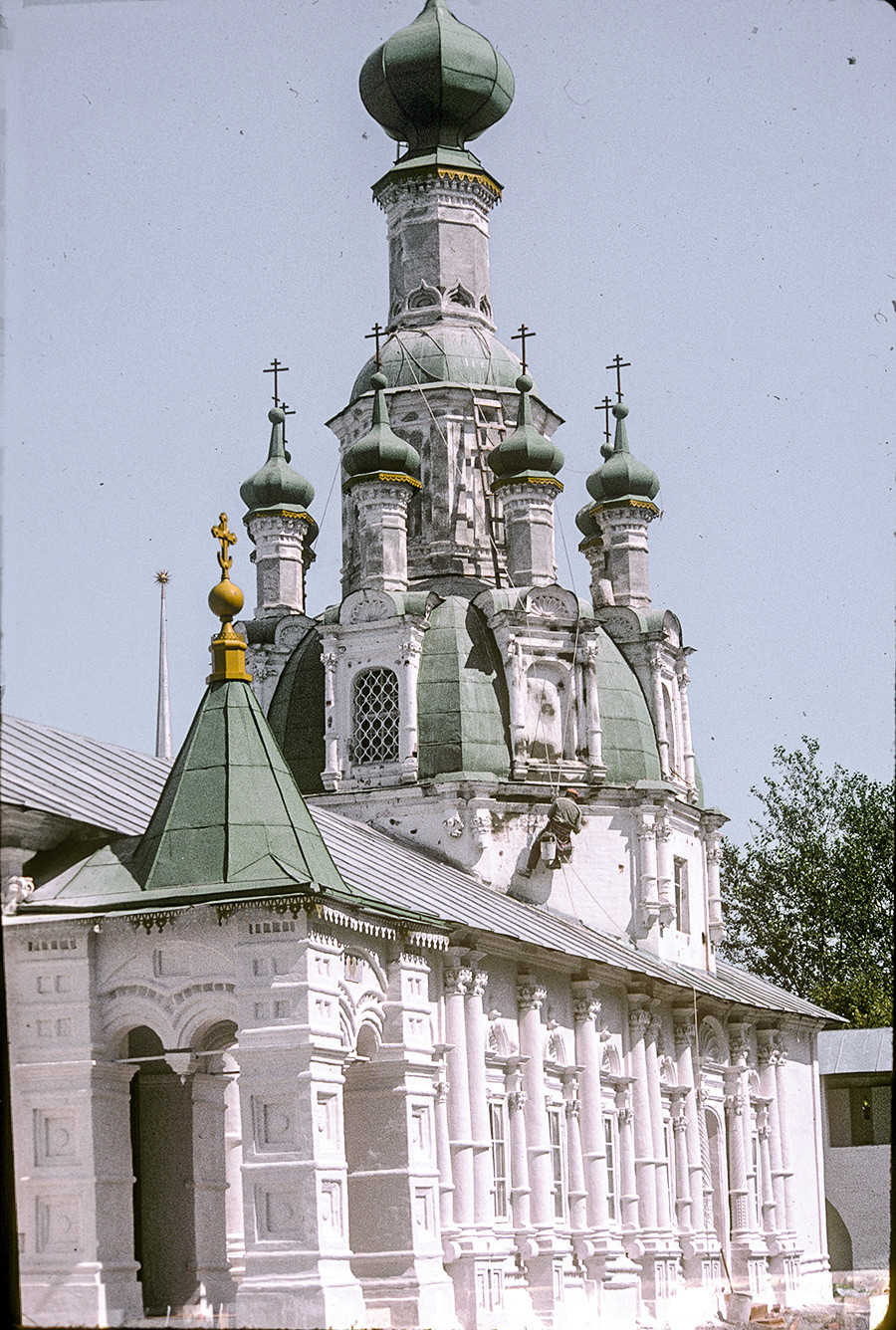 Church of the Miraculous Icon of the Savior. Southwest view. July 26, 1997