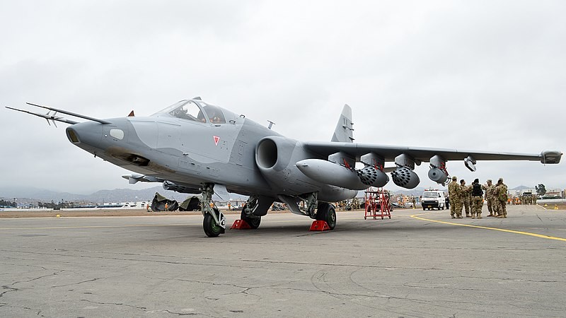Su-25 peruano