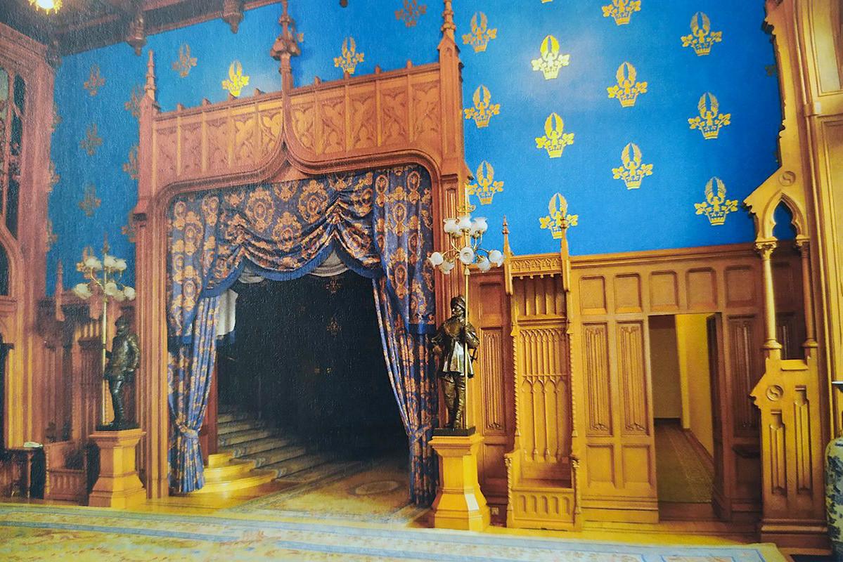 The interior of Zinaida Morozova's House
