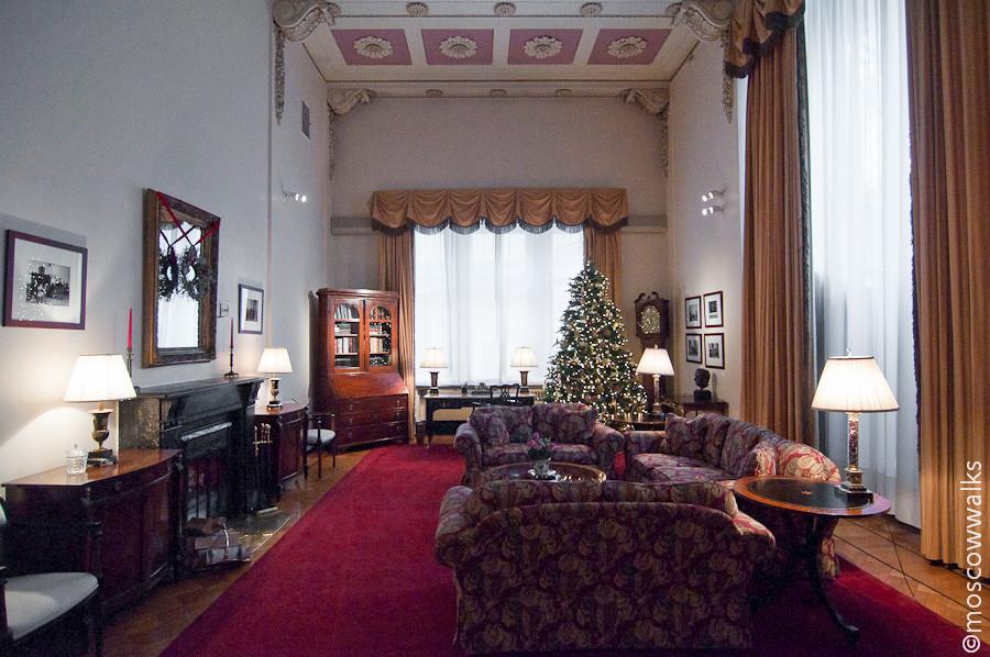 Spaso-House's inner rooms