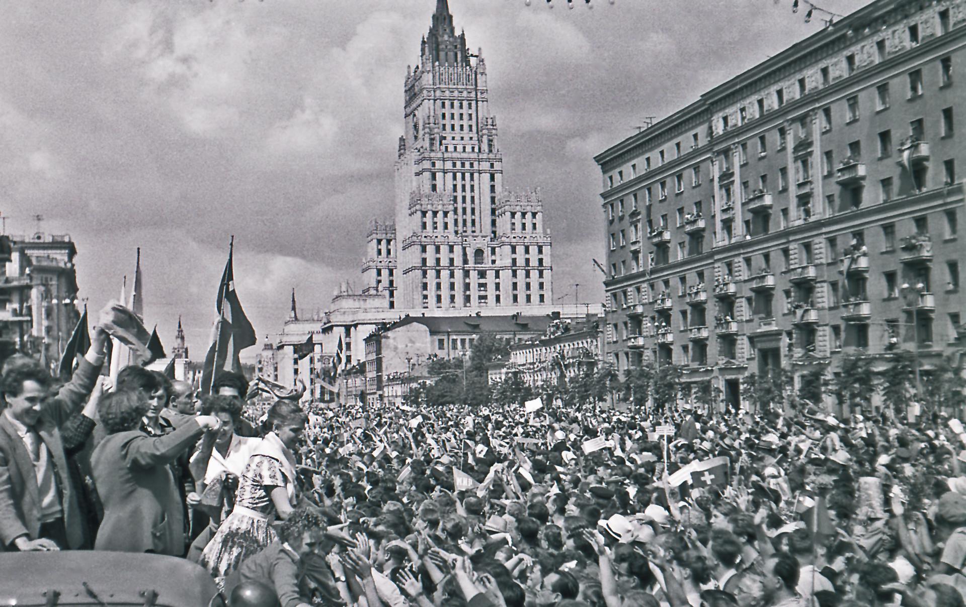 VI Festival Mundial de la Juventud y los Estudiantes que tuvo lugar durante 1957 en Moscú.
