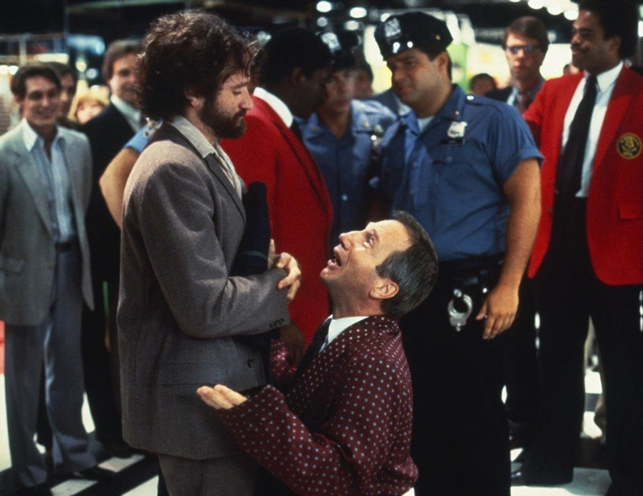 'Moscow on the Hudson', starring Robin Williams.