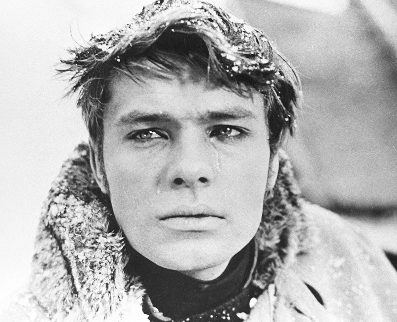 Oleg Vidov in The Blizzard.