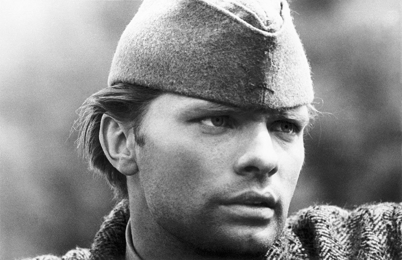 The star of 'Battle of Neretva' Oleg Vidov.