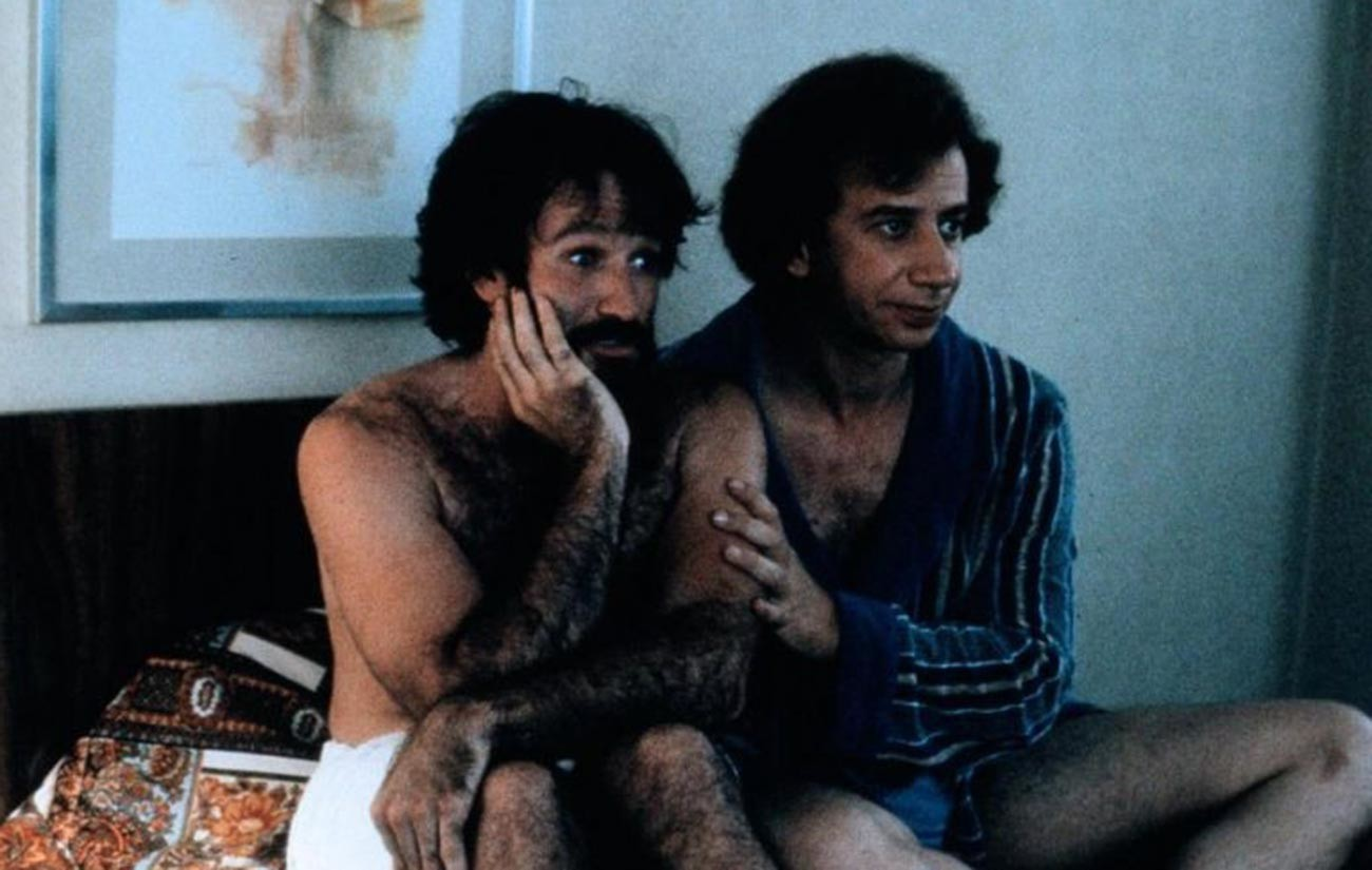 Baskin played opposite Robin Williams in Paul Mazursky's 1984 comedy drama 'Moscow on the Hudson'.