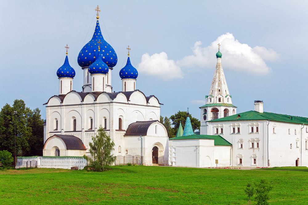 Cathedral of the Nativity in Suzdal, 18th century