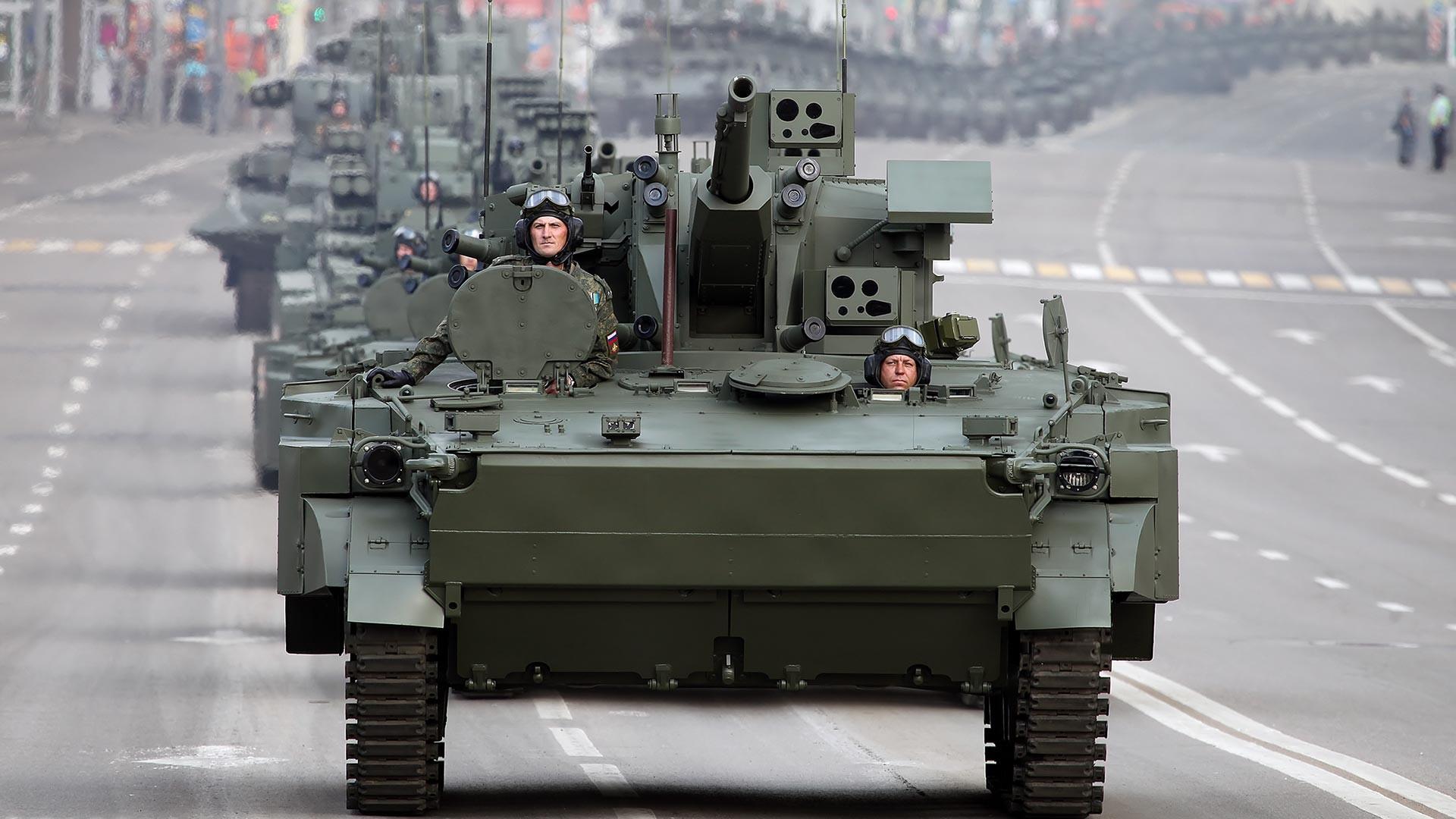自走高射砲「デリヴァツィヤPVO」