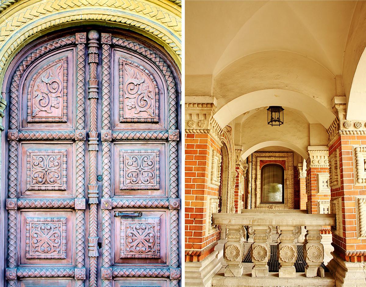 Il portone e il porticato di Casa Igumnov