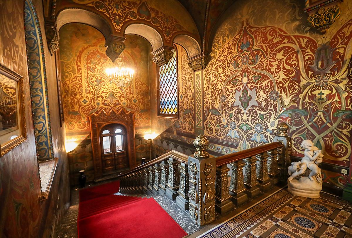 La scalinata di Casa Igumnov
