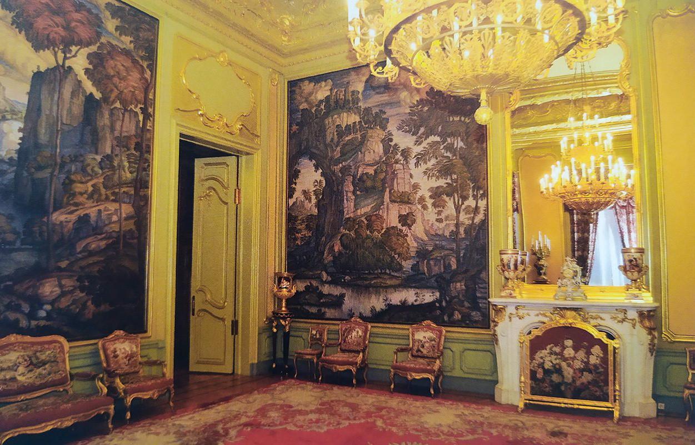 Gli interni della casa di Zinaida Morozova