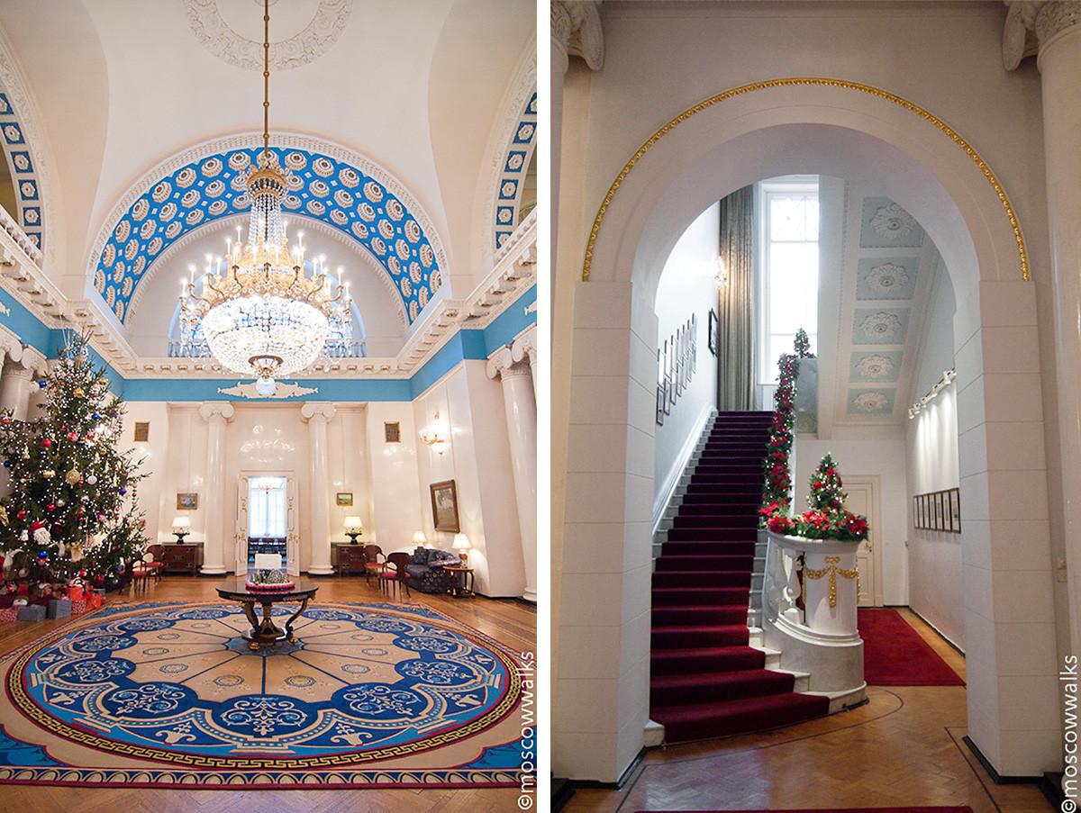 Gli interni di Palazzo Vtorov (Casa Spaso)