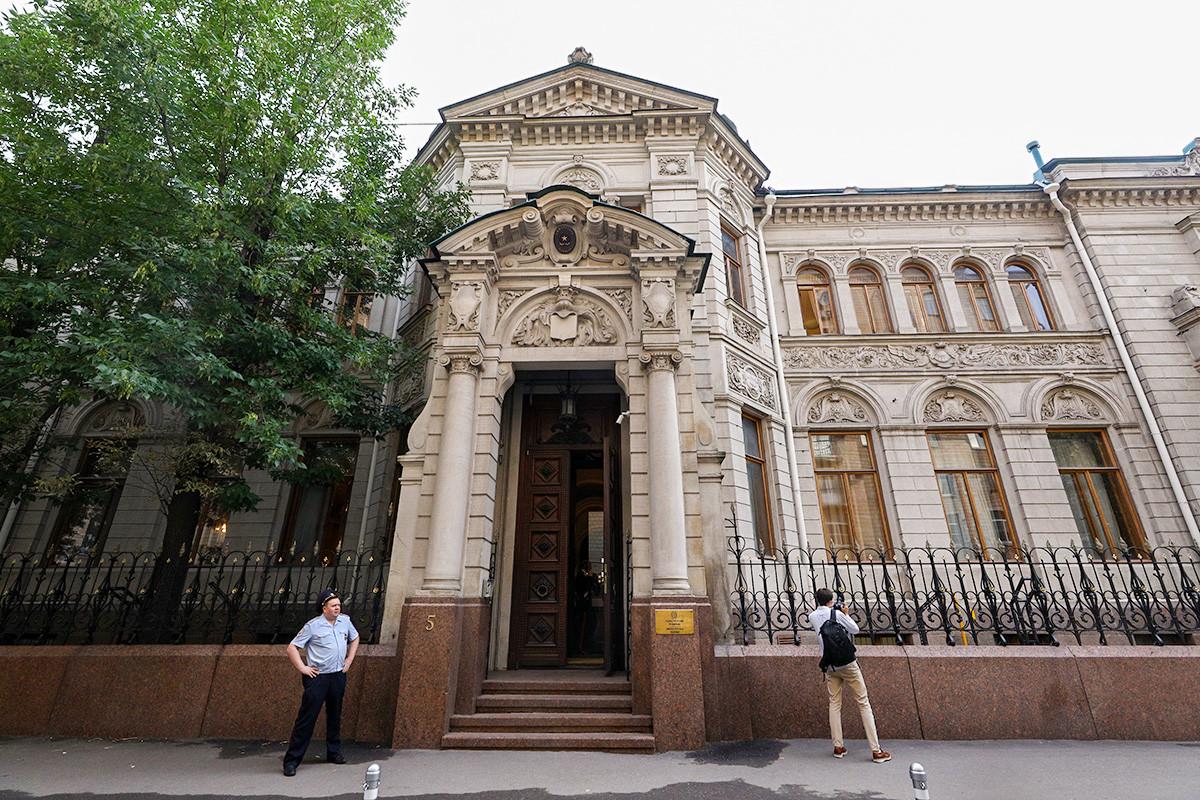 Villa Berg, sede dell'Ambasciata d'Italia a Mosca