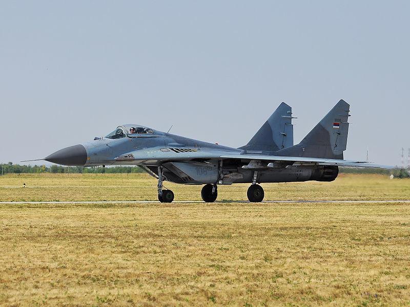 МиГ-29 на српското воздухопловсто