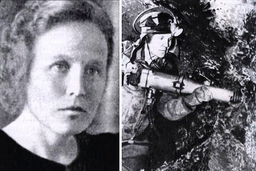 炭坑労働者であったマリア・コソゴロワ