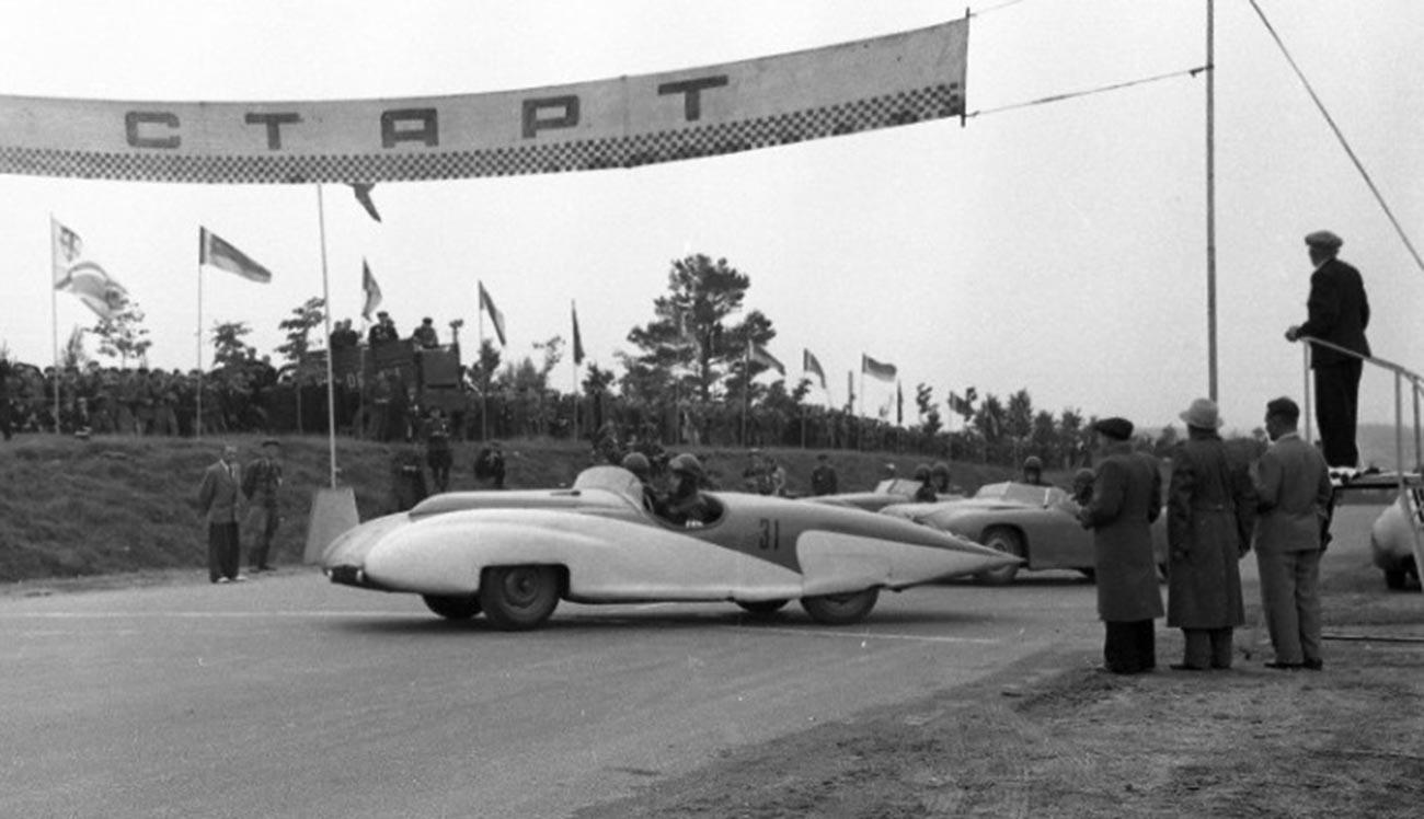 ГАЗ-СГ-1. Шампионат Совјетског Савеза у ауто-тркама 1956.