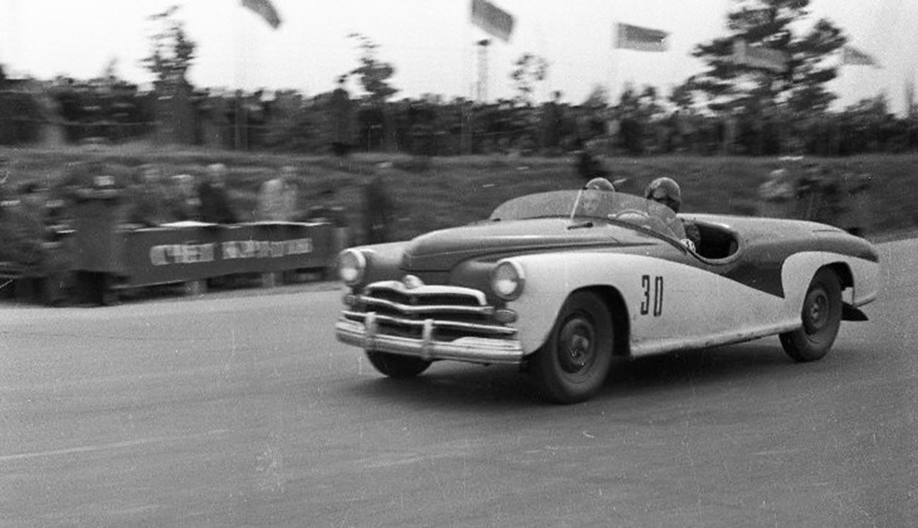 """""""Победа-Спорт"""". Шампионат Совјетског Савеза у ауто-тркама 1956."""