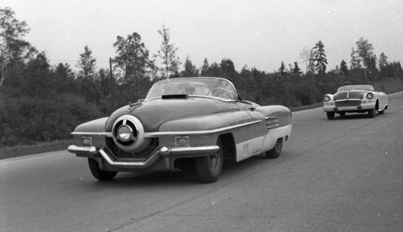ЗИЛ-112/1. Шампионат Совјетског Савеза у ауто-тркама 1956.