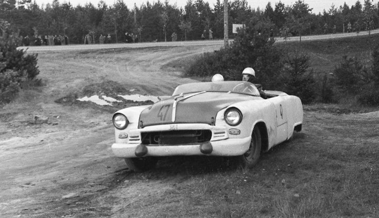 ЗИЛ-112/3. Шампионат Совјетског Савеза у ауто-тркама 1956.