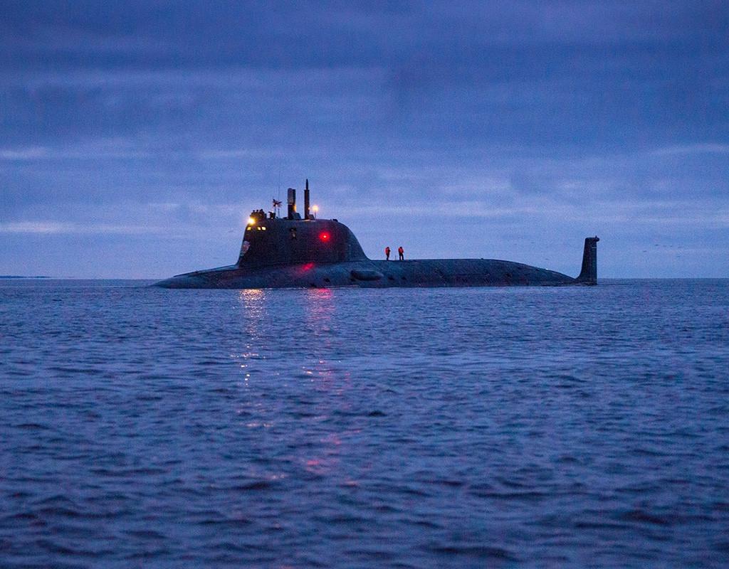 原子力潜水艦885Mカザン