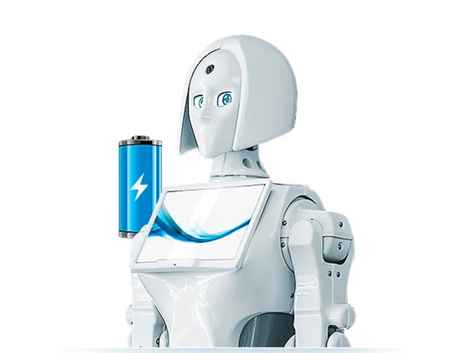 サービスロボット「キキ」