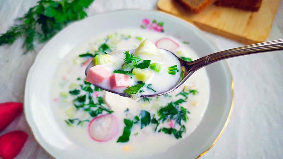 Sup okroshka