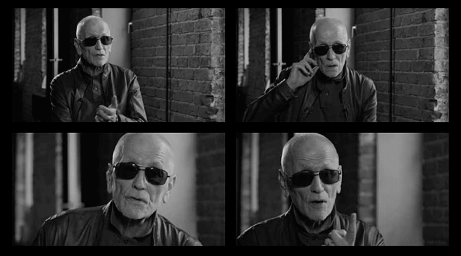 Georgy Karetnikov, screenshots from the interview for 'My Gulag' project