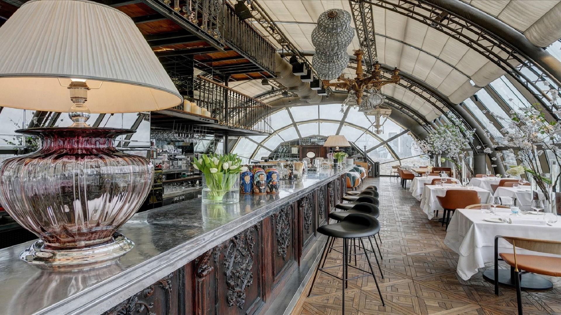 Le White Rabbit, l'un des restaurants les mieux cotés de Moscou