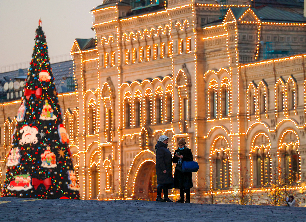 Russian Christmas 2021 How Russian Cities Decorated For The 2021 New Year Holidays Photos Russia Beyond