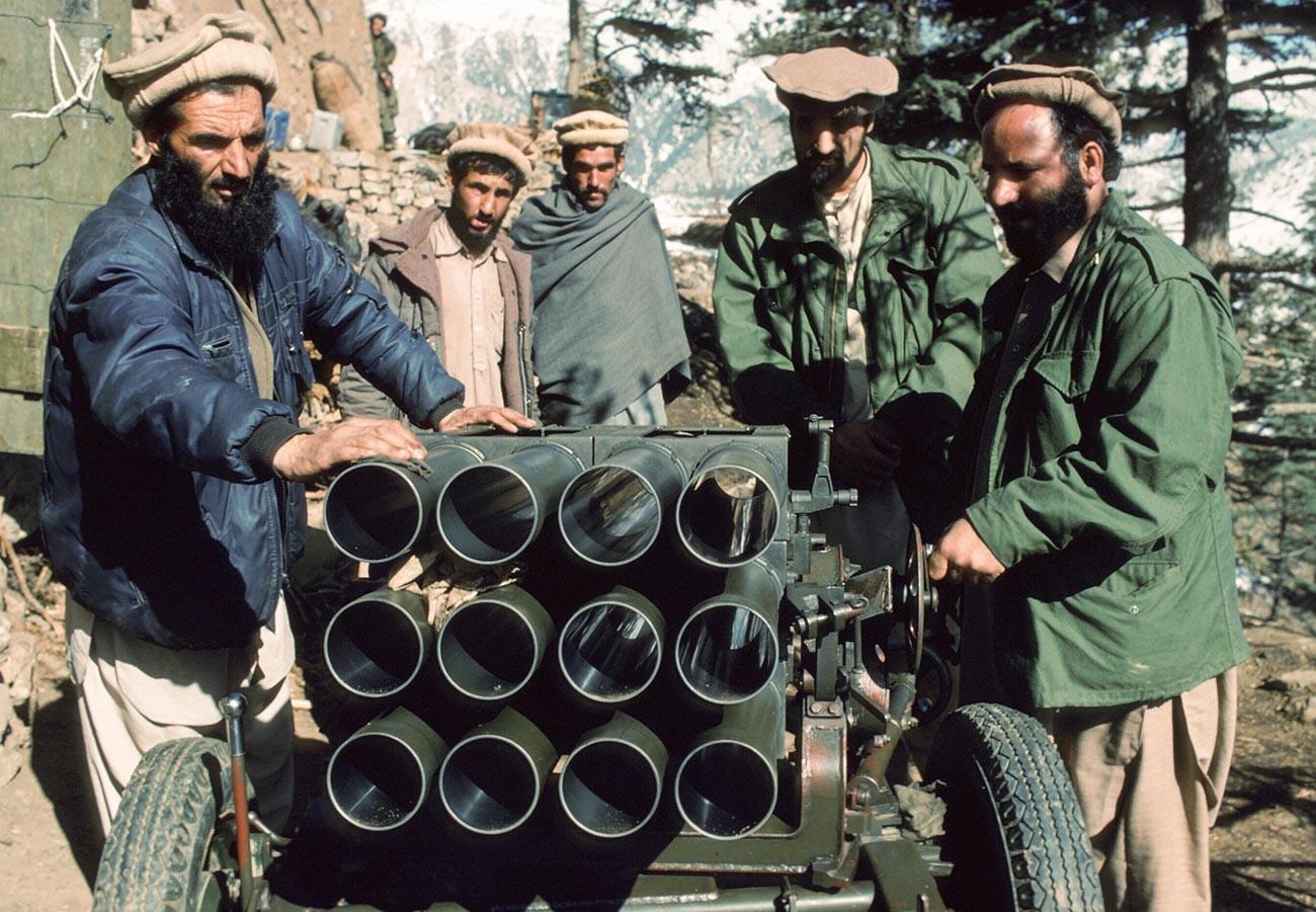 La guerre civile en Afghanistan