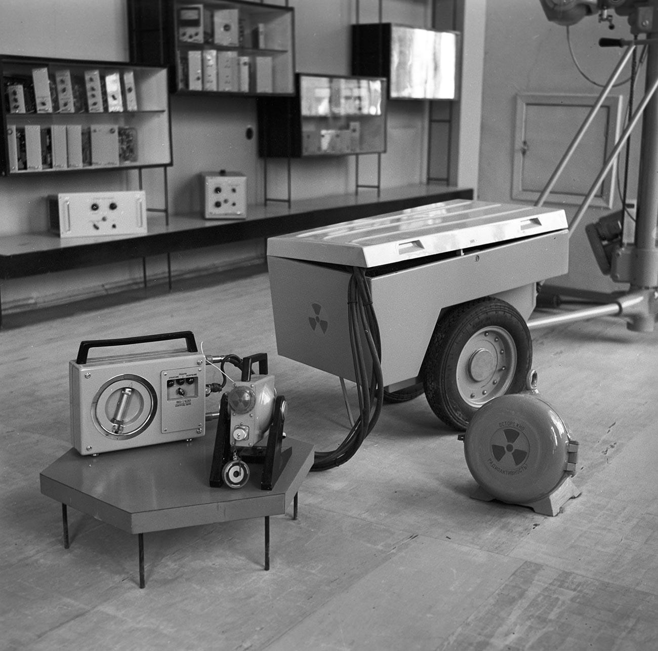 Гамма-дефектоскоп типа РИД-21М в магазине