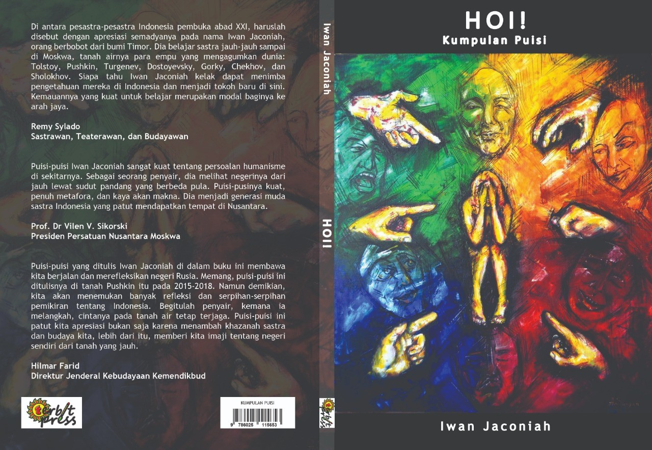 Sampul buku 'Hoi!'