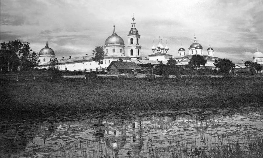 O Convento de Santo Atanásio.