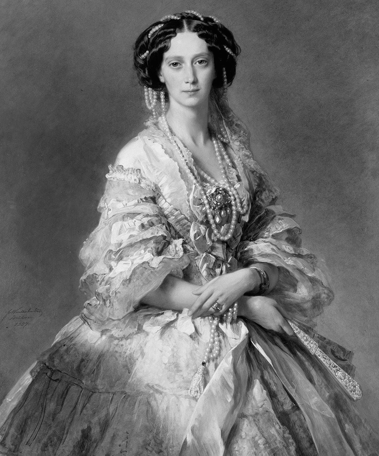 Retrato de María Alexandrovna