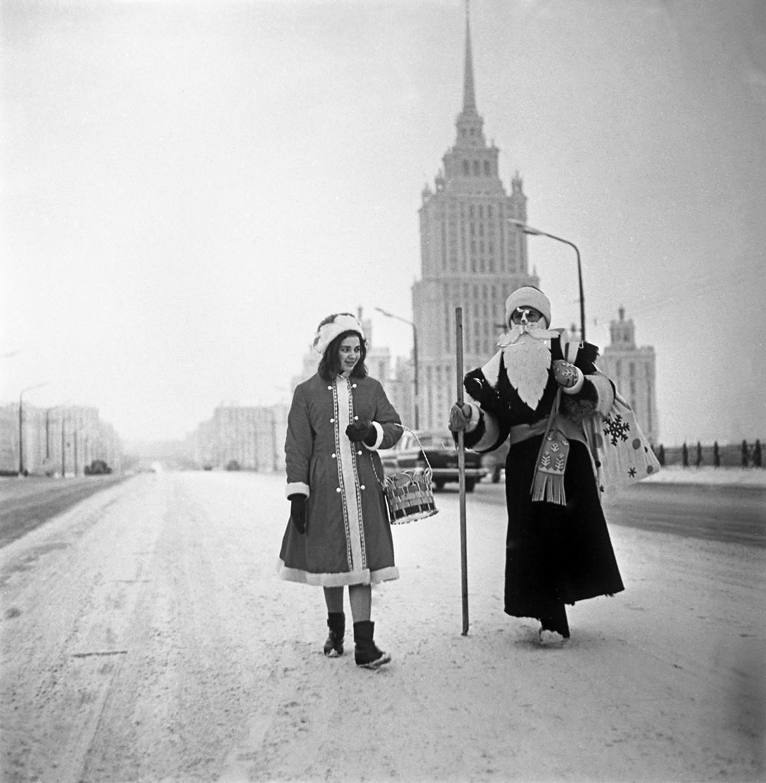 Le Père Gel et sa petite-fille Snegourotchka étaient indispensables à toute célébration du Nouvelle An en URSS.