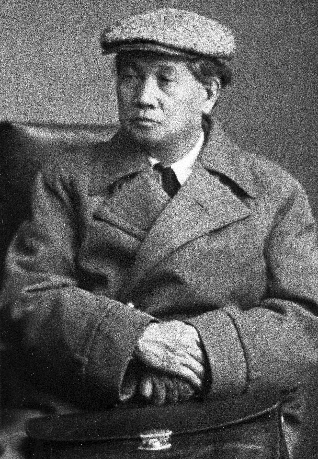 Leade of the Japanese Communist Party, Sen Katayama (1859-1933)