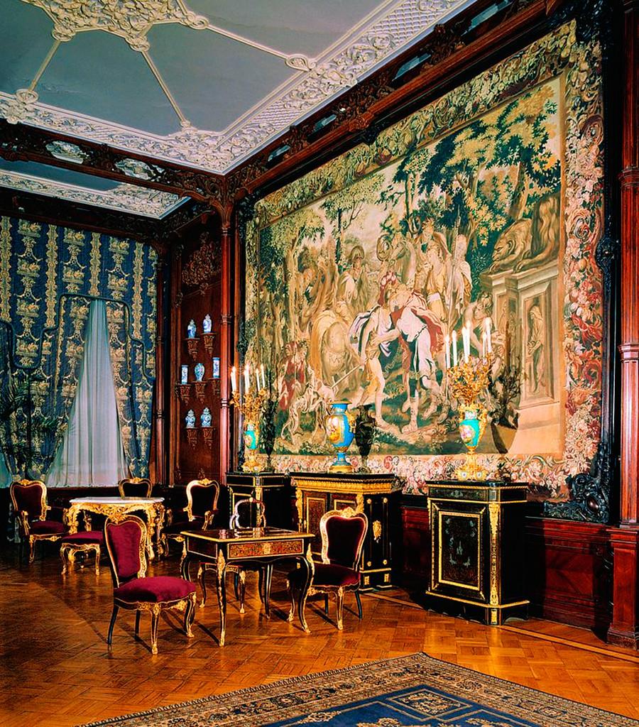 El salón de los tapices