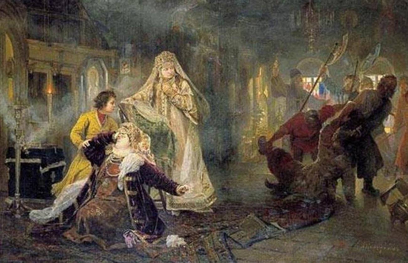 Le soulèvement des Streltsy de 1682