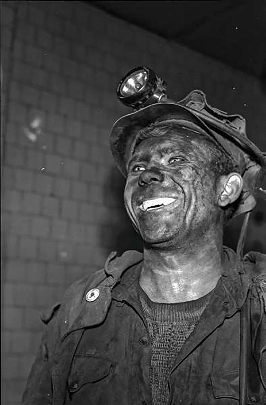炭鉱労働者、1960年代