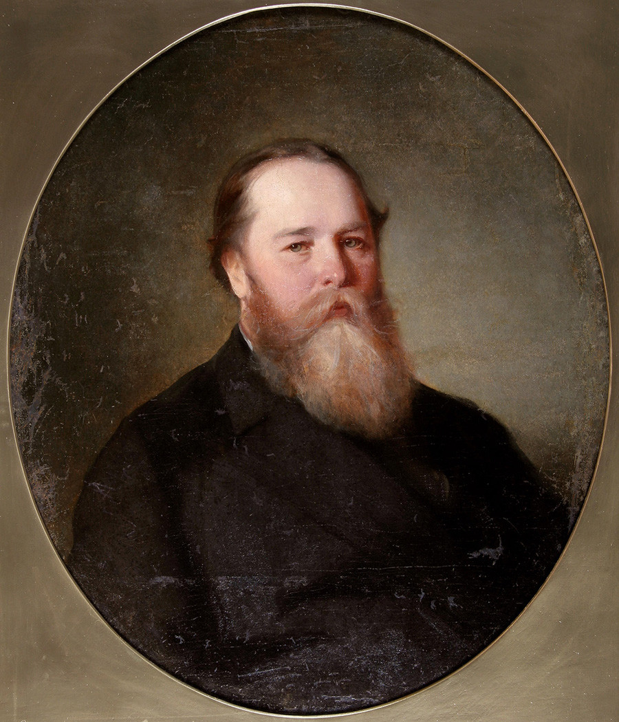 Pyotr Gubonin, 1860, karya Ivan Makarov.