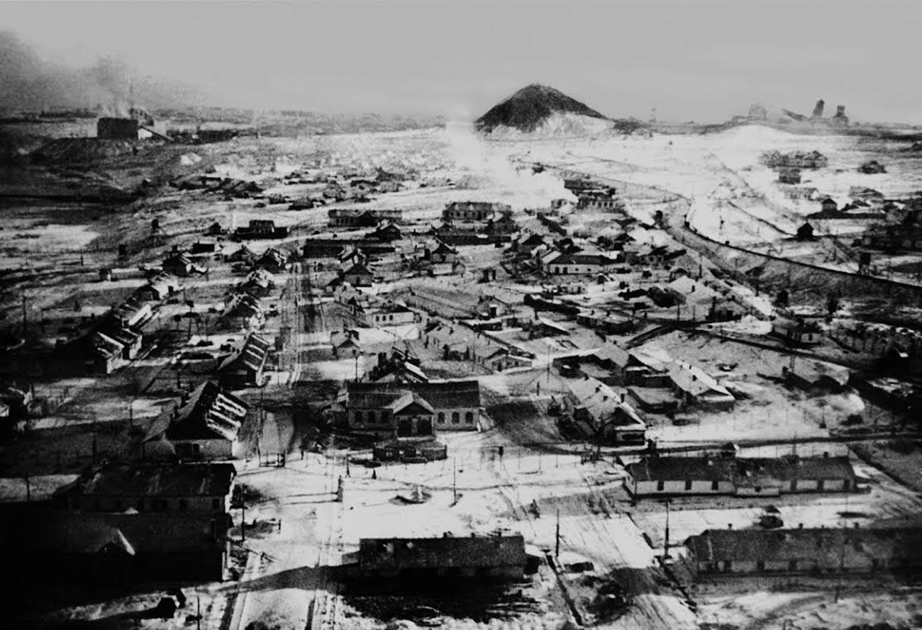 Le village d'ouvriers de Vorkouta
