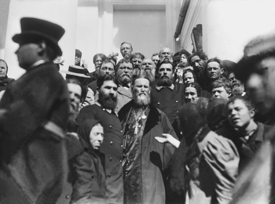 Jean de Cronstadt à Saint-Pétersbourg