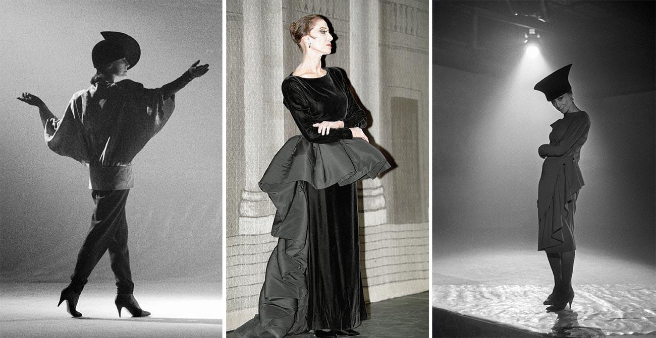 Plisetskaya dressed by Pierre Cardin