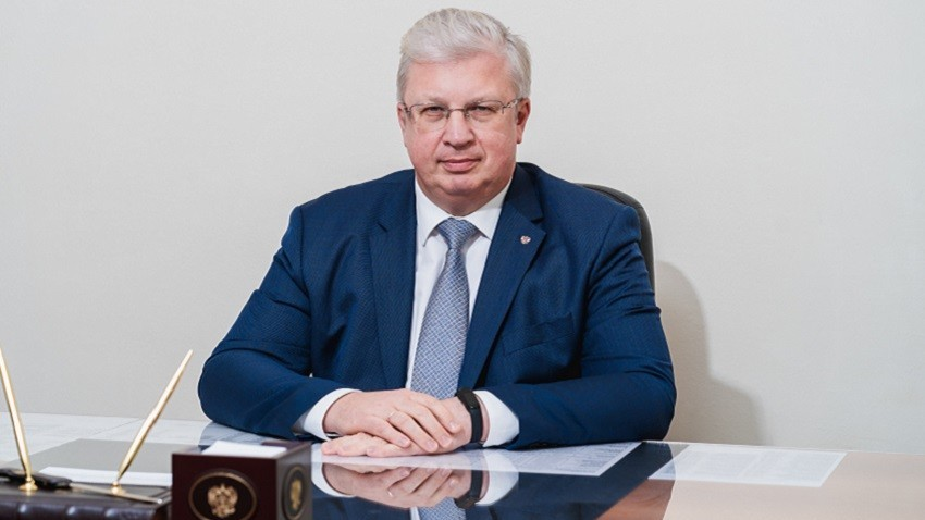 Амбасадорот на Руската Федерација во Република Северна Македонија н.е. Сергеј Александрович Баздникин