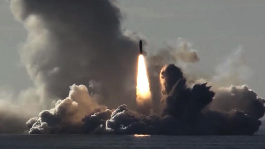 """Лансирање ИБР """"Булава"""""""