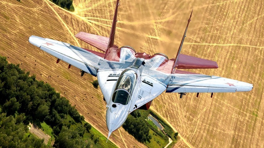 Jet tempur MiG-29 Angkatan Udara Rusia